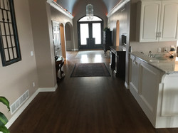 Red Oak Select with a Jacobean Stain