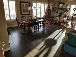 """Dining room with Red Oak Select 2.25"""""""