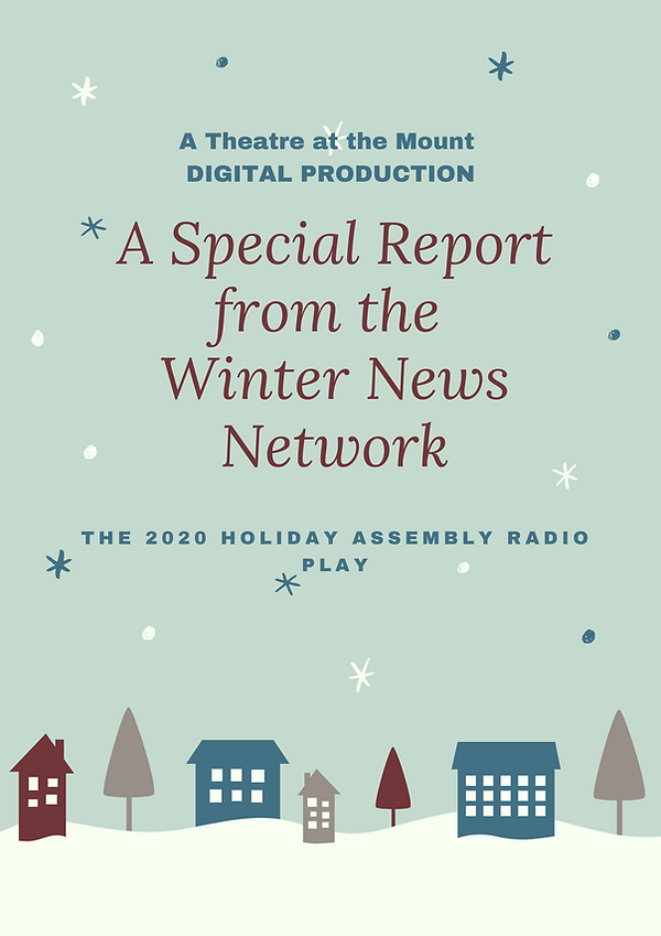 Illustrated Winter Town Holiday Poster.p