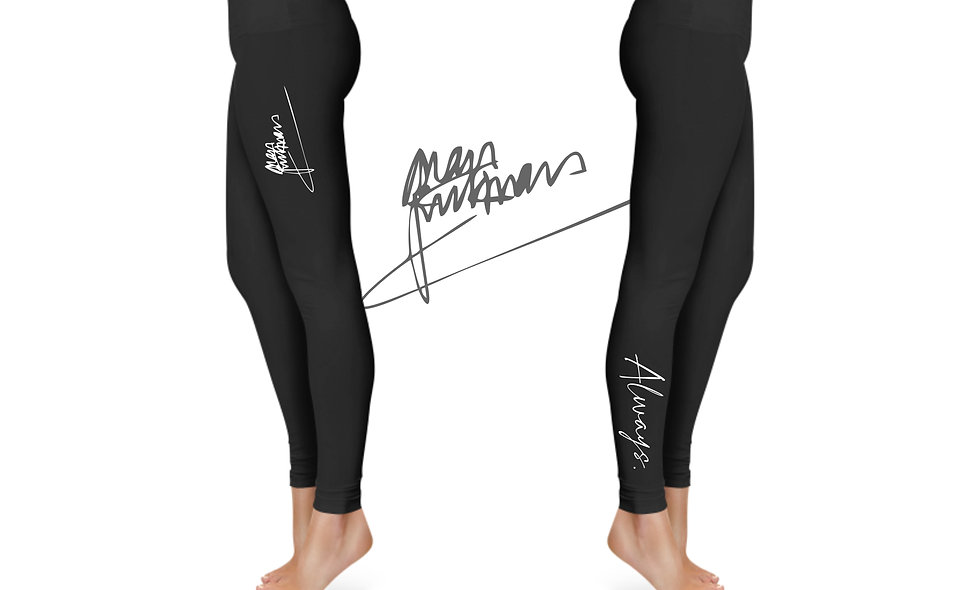 """Always."" Leggings Alan Rickman Signature"