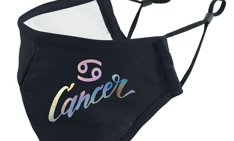 Cancer Zodiac Sternzeichen Mundschutz Maske