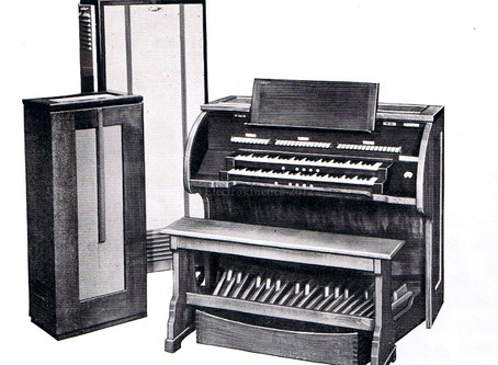 The Compton Organ Company - History - Part One of Three