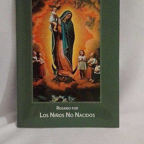 Folletos para rezar el rosario por los niños no nacidos