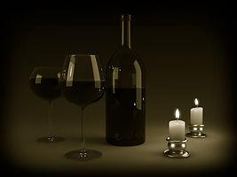stearinlys Vin