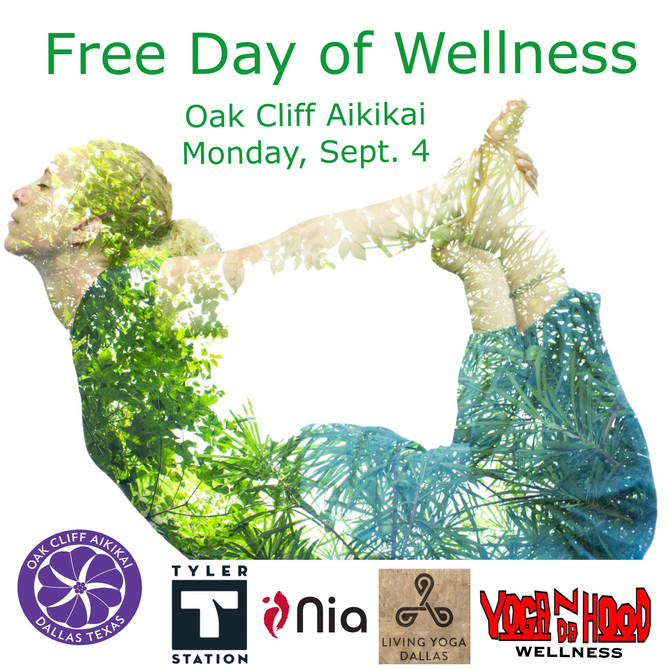 Come Join Us for A Free Day of Wellness...Monday September 4, 2017