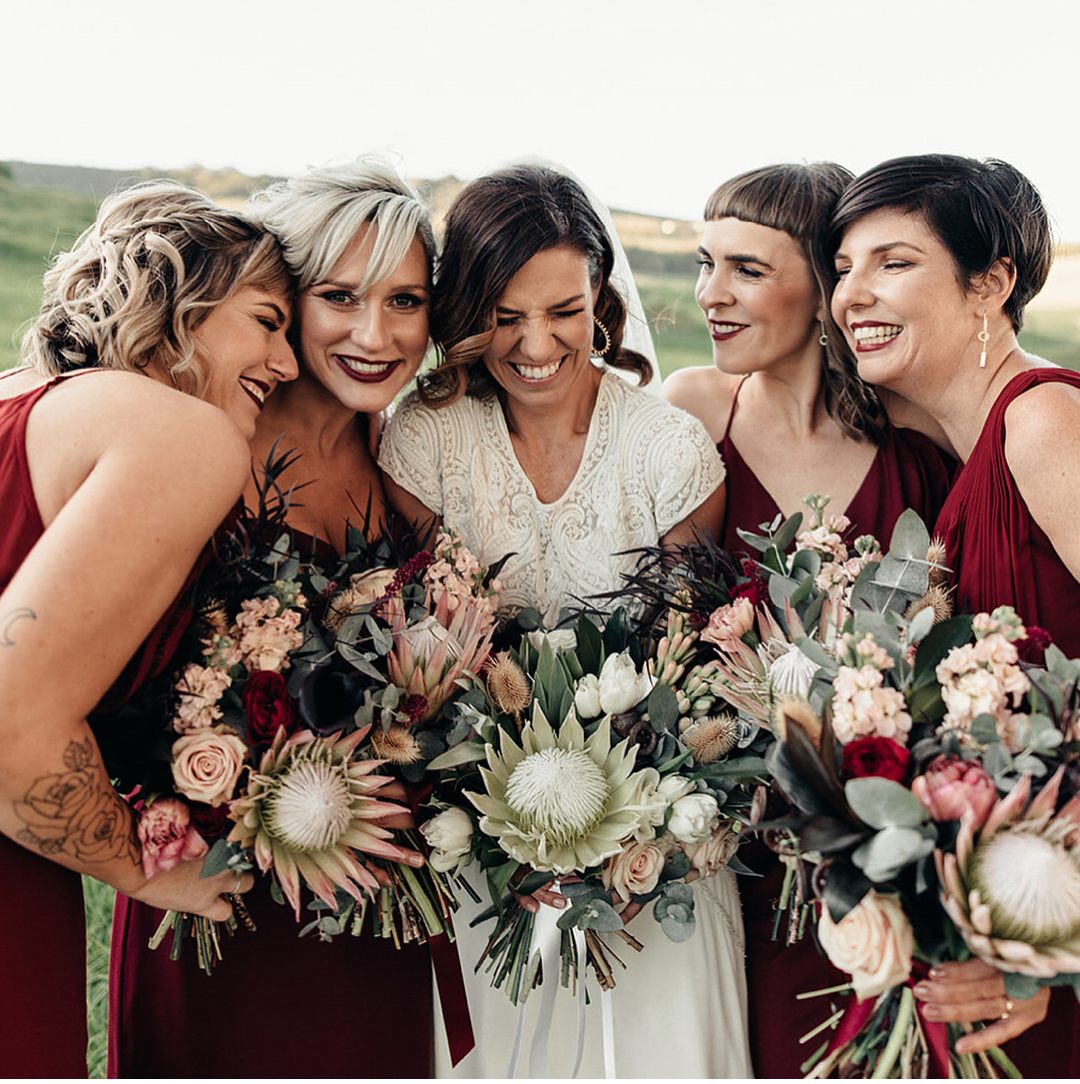 SILVER Bridal Party Makeup