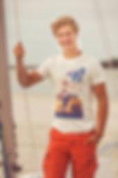 offwhite fairtrade Frisian flag shirt man