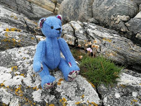 Mattie the Harris Tweed Bear