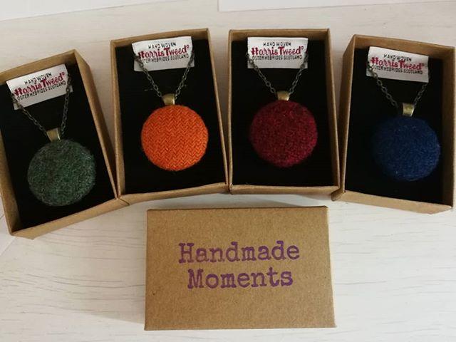 Harris Tweed pendants