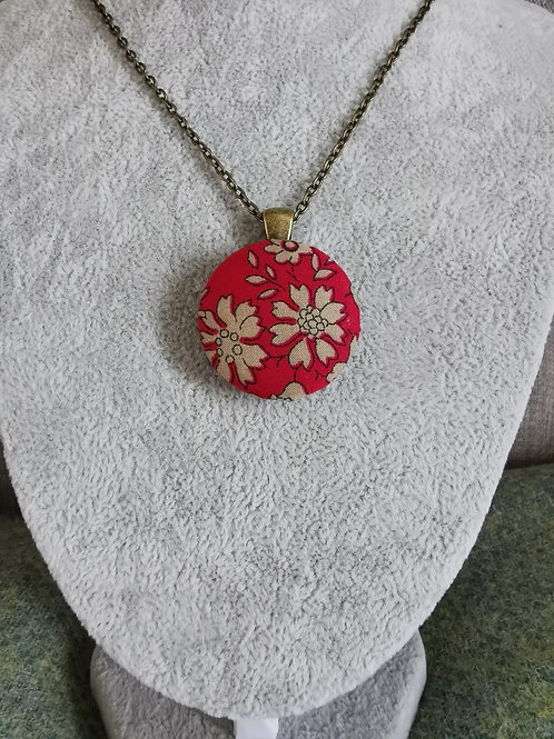 Autumn Leaves Red pendant