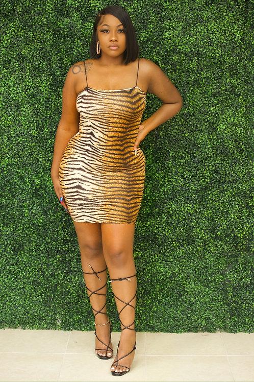 Tiger Mini Dress