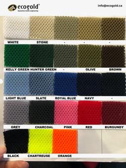 Ecogold Colors - Saddle Pads