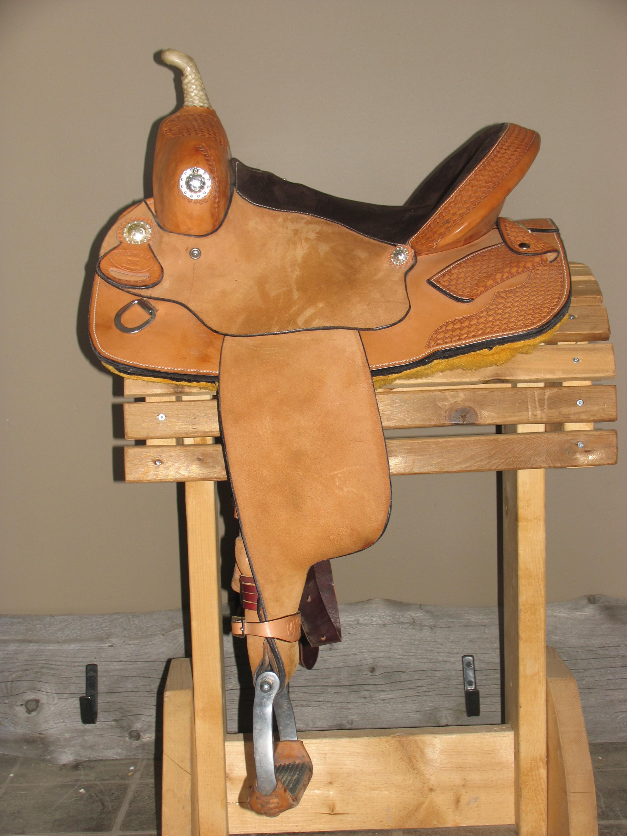 1Barrel saddle