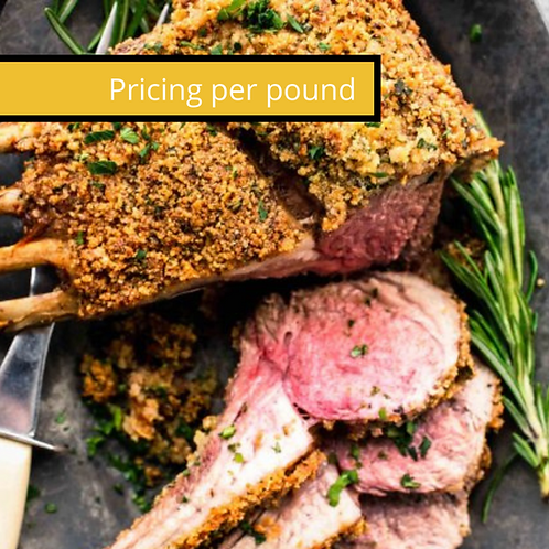 Herb-Crusted Roasted Rack of Lamb