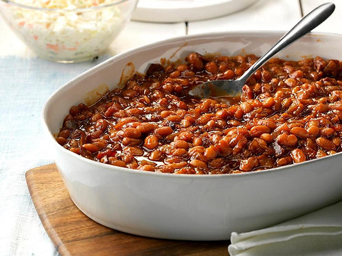 Baked Beans with Pork or Vegetarian