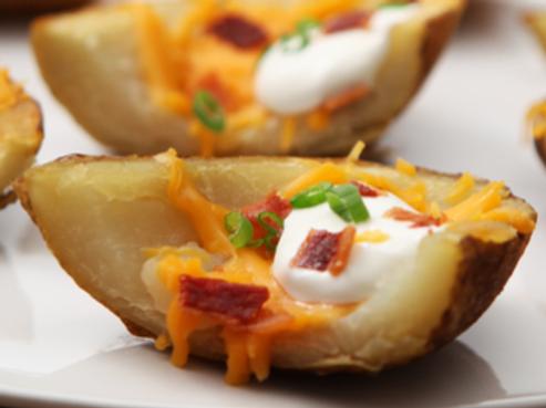 Vegan Potato Skins