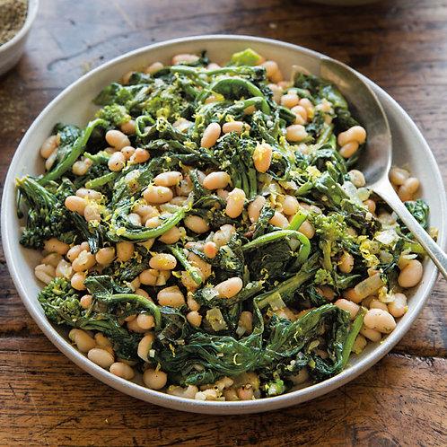Roasted Garlic Sautéed Broccoli Rabe