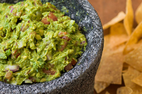 Guacamole with Mixed Tortilla Chips