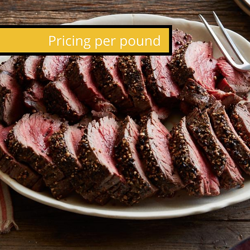 Roasted Tenderloin or Beef