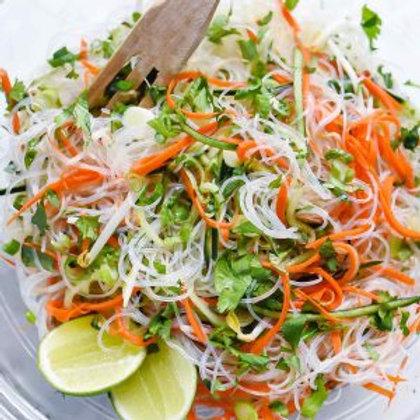 Vegan Tofu & Rice Noodles