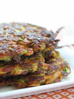 Zucchini-Potato Latkes