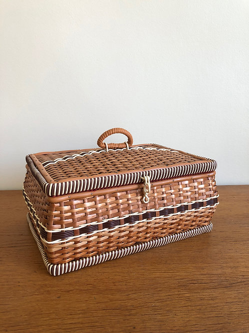 Boîte à couture vintage