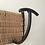 Thumbnail: Porte-manteau vintage fer/osier