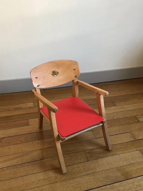Petite chaise-pot vintage #1