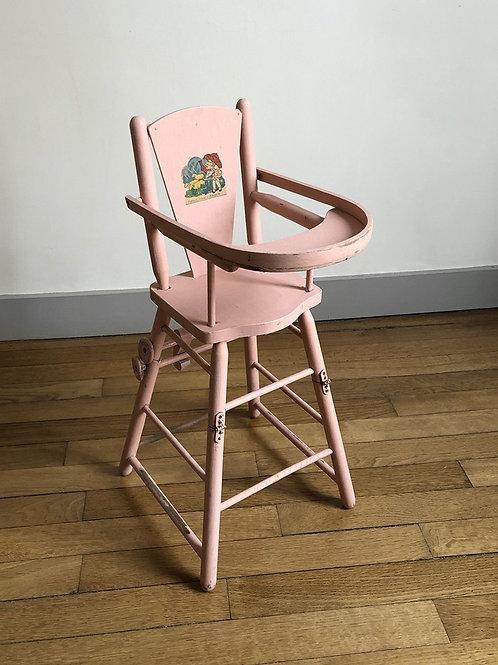 Chaise de poupée ancienne #1