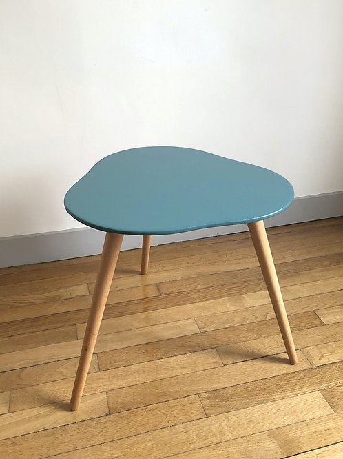 Table basse tripode vintage