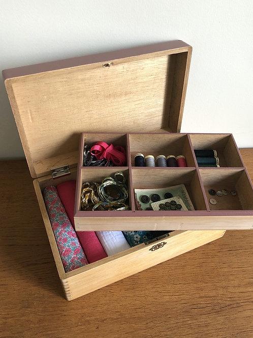 Boîte de rangement vintage