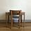 Thumbnail: Bureau ancien et chaise Baumann enfant