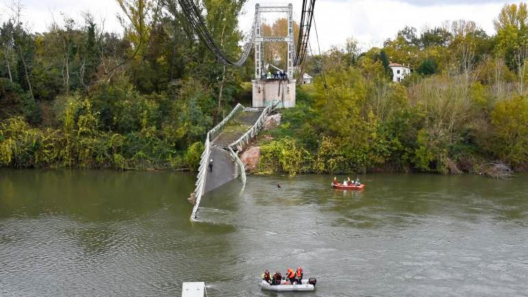 Rupture de pont suspendu