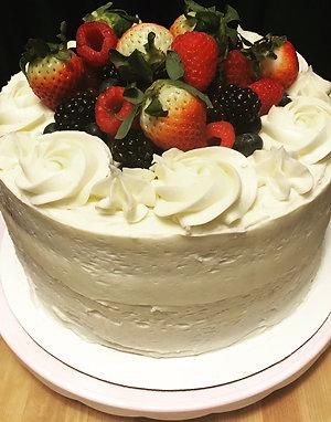 "9"" Luscious Lemon Layer Cake"
