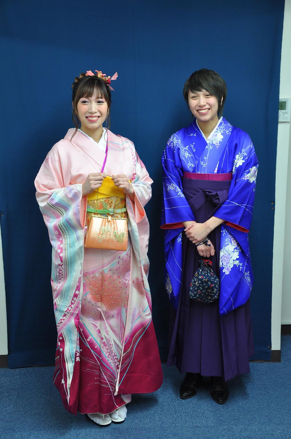 furisode & hakama