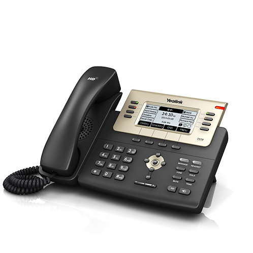 Yealink SIP-T27P, Executive IP Phone 6 line, LCD, POE