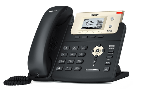 Yealink T21P E2 IP Phone, 2 Lines. 2.3-Inch Graphical Display. Dual-port 10/100