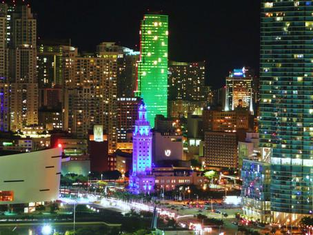 Miami the hub of the Americas.