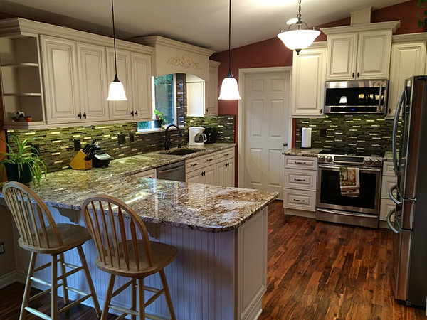 All Wood Kitchen Cabinets In Just Days