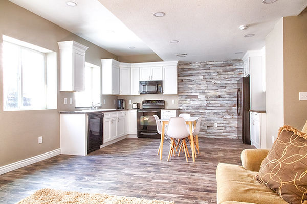 shaker white kitchen cabinets Denver