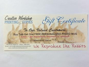 But 2, get 1 free photo mug