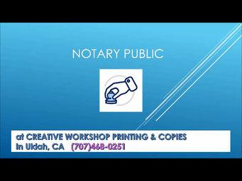 Why Might I Need A Notary Public?