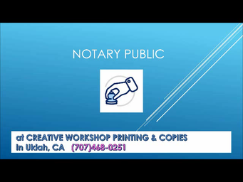 Why Might I Need A Notary Public?