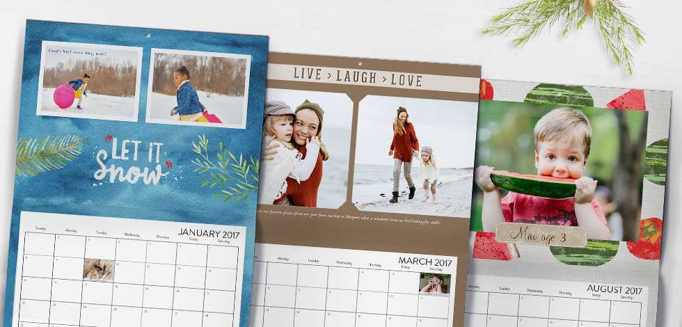 Personalized Calendar Buy One Get One Free – Photo Calendar