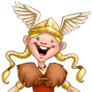 viking girl icon