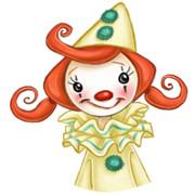 clown girl icon