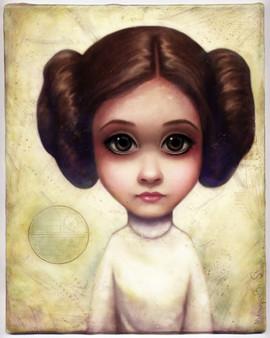 Big Eyes Leia