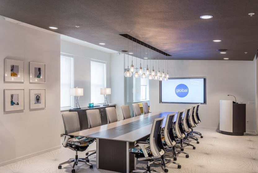 Wood Veneer- Custom Boardroom