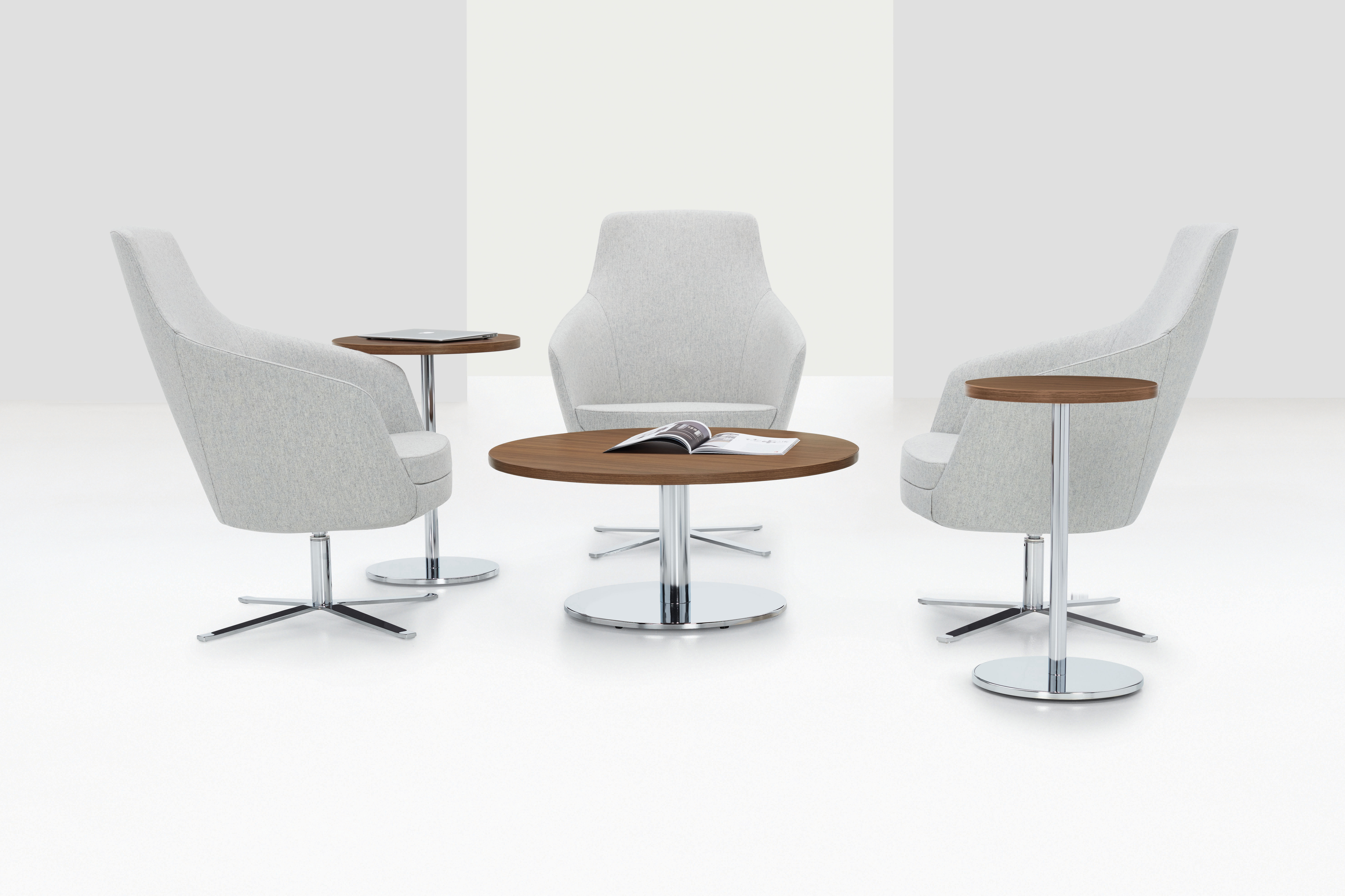 Swap Tables + Drift Chairs