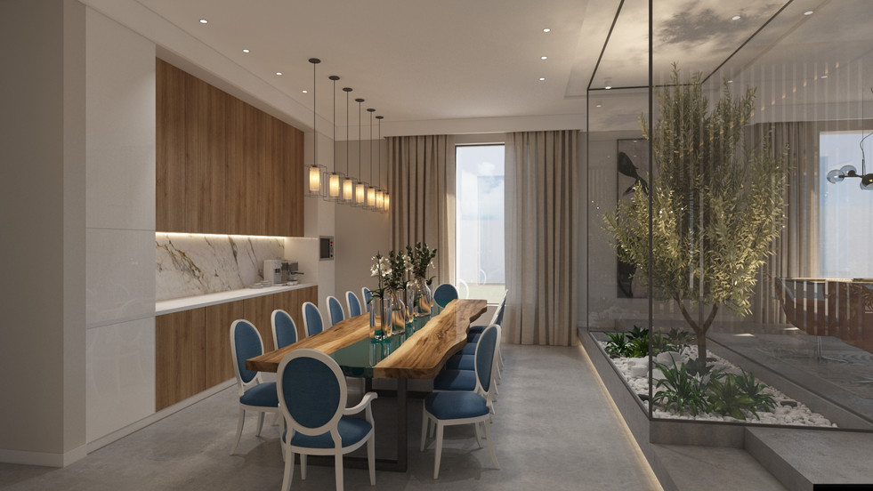 Beach House - Dining Area